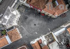 Marco Cental de Curitiba - Largo da Ordem  - Foto: Curitiba NoAr - Vídeos e Fotos de Curitiba sob um novo ângulo