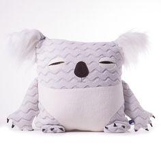 Koala Pillow by velvetmoustache on Etsy