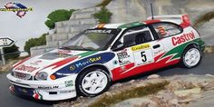 Rallye Automobile de Monte-Carlo 1998 Toyota Corolla WRC Sainz/Moya 1/43