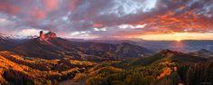 Cimarron Sunset Panorama - Jack Brauer