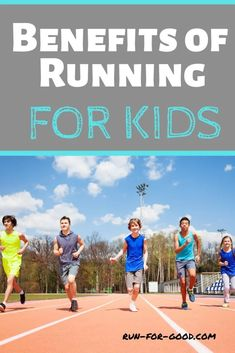 From improved self-confidence and discipline to better sleep and more family bonding, here are some of the many benefits of running for kids. Learn To Run, How To Start Running, How To Run Faster, How To Run Longer, Running Club, Kids Running, Running Workouts, Running Tips, Jogging For Beginners