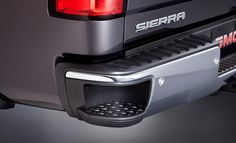 Awesome GMC 2017: 2014 GMC Sierra - Integrated Rear Assist Step... Check more at http://cars24.top/2017/gmc-2017-2014-gmc-sierra-integrated-rear-assist-step/