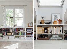 Libros en orden, estanterías e ideas de almacenaje | Decorar tu casa es facilisimo.com