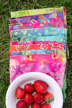 Make No-Sew Napkins - Perfect for a Summer Picnic! | this heart of mine