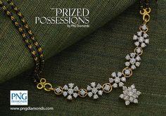 10 Different Styles Diamond Mangalsutra   Jewellery Designs