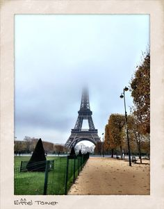 Eiffel Tower Photo taken by Andrea Duffy  November 2014