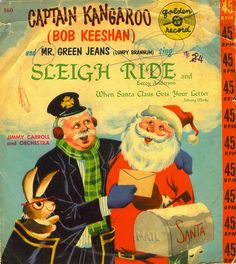 Sleigh Ride / When Santa Claus Gets Your Letter 78 RPM Vinyl Record, Golden Records - 1955 Original Pressing Vintage Christmas Cards, Retro Christmas, Vintage Holiday, Vintage Cards, Vintage Books, Christmas Albums, Christmas Past, Christmas Music, Christmas Villages