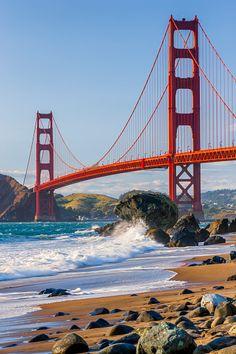Usa Wallpaper, Ocean Wallpaper, Beautiful Wallpaper, San Francisco Bridge, San Francisco California, Golden Gate Bridge Wallpaper, Monuments, San Francisco Wallpaper, Alice In Wonderland Poster