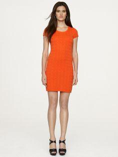 Short-Sleeved Cashmere Dress - Short Dresses  Dresses - RalphLauren.com