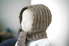 Patron de layette au crochet - chapeau béguin d'hiver pour bébé - 1 mois / 18 mois : Tutoriels de fabrication par ladeuxl-s-boutique