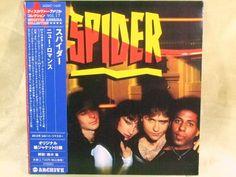 CD/Japan- SPIDER s/t (1980) w/OBI RARE MINI-LP 24bit remaster - HOLLY KNIGHT #PopRock