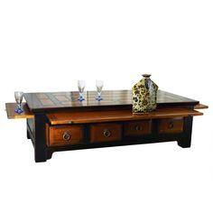 Petit meuble chinois rangement figurines et miniatures decoration asiatique - Meuble style asiatique ...