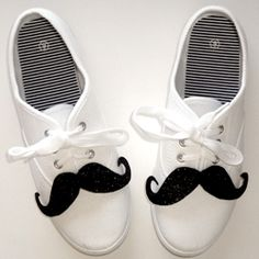 Shoestaches - Moustaches for your Shoes Tutorial!