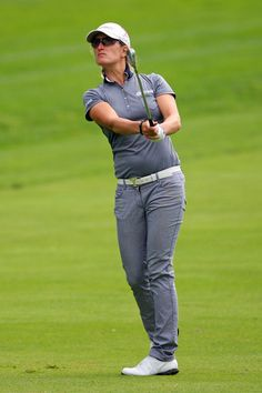 Giulia Sergas Photos Photos - Giulia Sergas of Italy hits her third shot on the fourth hole during the third round of the Wegmans LPGA Championship at Locust Hill Country Club on June 9, 2012 in Pittsford, New York. - Wegmans LPGA Championship - Round Three