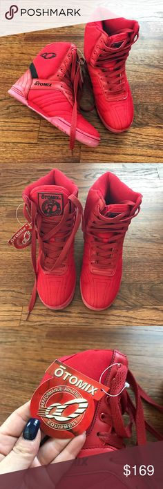 sports shoes 154f0 e89d4 Otomix super hi-top Red Women s Size 6 Otomix super hi-top Red Women s Size  6 New with tag Never worn otomix Shoes Athletic Shoes