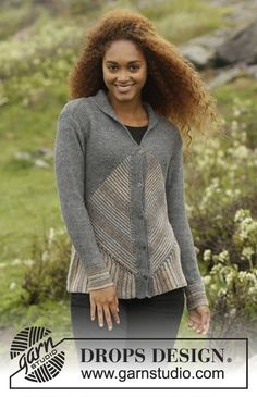 Tauriel Cardigan by DROPS Design - free