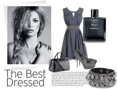 """graay"" by meden ❤ liked on Polyvore"