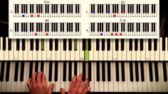 How to play: Love the way you lie - Eminem ft. Rihanna. ORIGINAL Piano C...