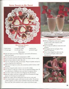 """American Girl Magazine - January 1993/February 1993 Issue - Page 36 (Part 4 of """"A Valentine Party with a Peppermint Twist"""")"""