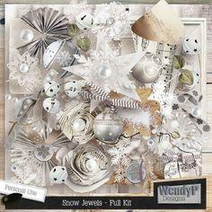 Snow Jewels - Full Kit :: Memory Scraps