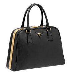 Classic Prada bag, has a great vintage look.
