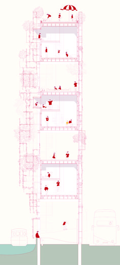 Ngai Lam (Michelle) Wang, Year 2 'Housing for XL... / BARTLETT LIVING LABORATORY