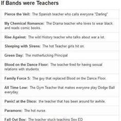 This perfect. All of it. And I would just like to say that I would be totally ok with Fall Out Boy teaching me sex ed.