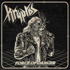 Heavy Metal, Black Metal, Thin Lizzy, Judas Priest, Iron Maiden, Rock N Roll, Cover Art, Metal Albums, Thrash Metal