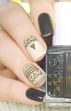 60 DARK NAILS FOR WINTER – PinningFashion Easy Makeup, Simple Makeup, Gel Nail, Nail Polish, Wow Nails, Mirror Powder, Dark Nails, Small Mirrors, Creative Nails