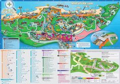 Sentosa Island with Universal Studios, Underwater World and beaches Singapore top tourist attractions map