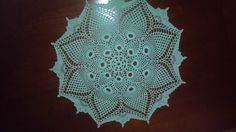 Another Patricia Kristoffersen doily.  The circles were a bit tricky.  LOL