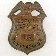 old western us marshals | 249: OLD WEST COWBOY ERA US DEPUTY MARSHAL PORTLAND ORE : Lot 249