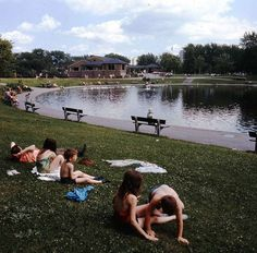 Montreal's Parc Lafontaine In 1969   MTL Blog