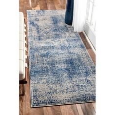 Found it at AllModern - Citium Blue Area Rug
