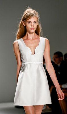 simple & pretty- Calvin Klein Spring 2013