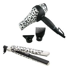 Hot Tools Snow Leapord Flat Iron & Ion Hair Dryer set $69.99 great deal, great reviews.