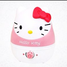 Hello kitty humidifier for when I'm sicky poo