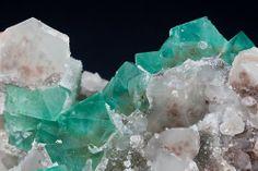 Fluorite, Quartz  Riemvasmaak, Namaqualand, Northern Cape Prov., South Africa