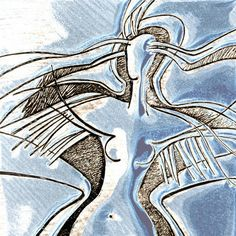 Wings to fly blue square by Rheta-Mari Kotze Blue Square, Contemporary Art, Fine Art Prints, Abstract Art, Digital Art, Art Gallery, Wings, Greeting Cards, Wall Art
