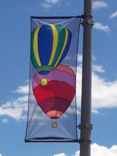Lamp Post Banner With Wind Spilling Brackets Banners