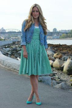 a fashion love affair: Mint Julep