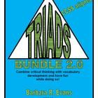 TRIADS BUNDLE 2.0 brings you 3 sets of TRIADS in one product, for 20% savings.  Great for HOTS!  $
