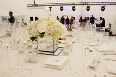 Bees Marquees were delighted to supply the marquees (ceremony and reception) for the happy occasion of a Jewish wedding for 220 guests at a country manor house
