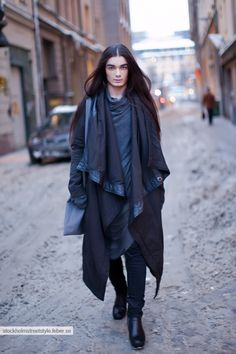 Rick Owens.......I want this look.