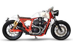 Honda VRX400 Cafe Racer Custom de Bike World