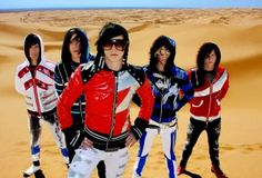 Family Force 5, their music is so fun and superb for dancing.  And they're really funky hahaha.
