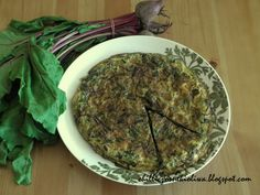 La Trouchia - traditional Provencal omelette with chard