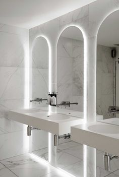 White Marble Bathroom                                                       …
