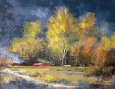 Approaching Storm by Margi Lucena Pastel ~ 11 x 14
