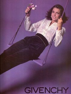1980 Givenchy Fashion Clothing Swing Print Advertisement Ad Vintage VTG 80s | eBay